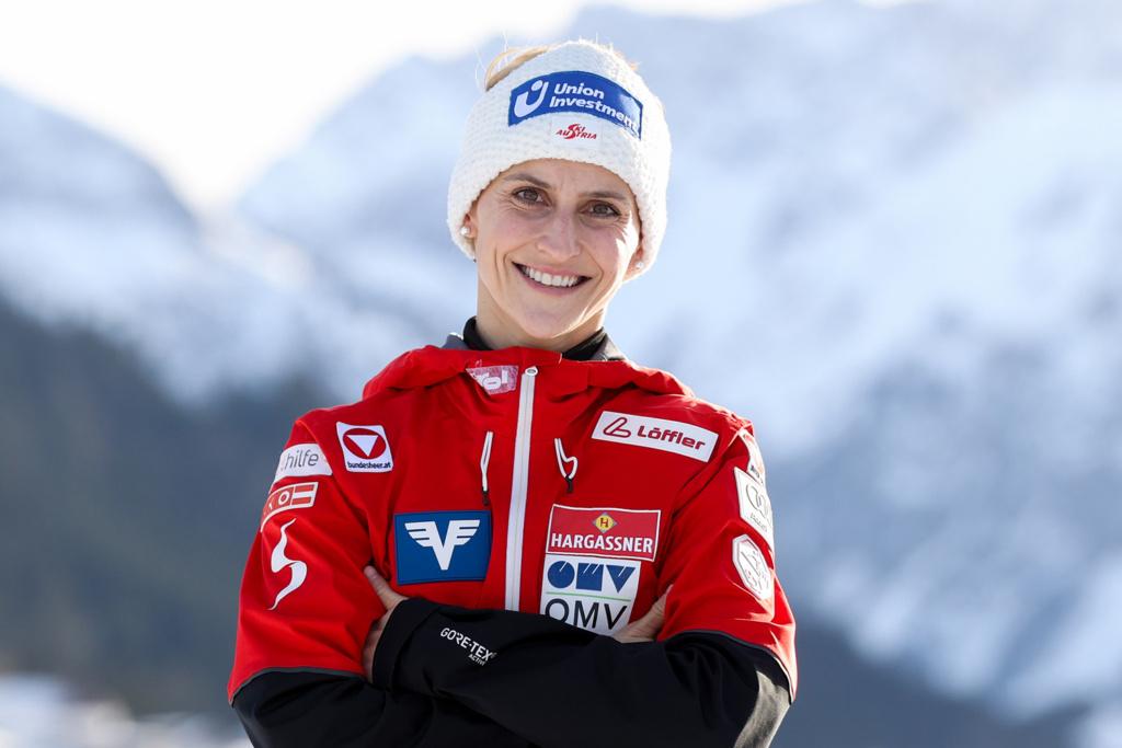 Eva Pinkelnig Skispringen ÖSV